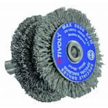 Wheel brush TECHNIC | Steel thread | Metal stripping TECHNIC (Blister Box)
