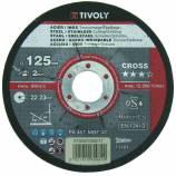 Disco de tronzado/desbarbado   CROSS 3en1 TECHNIC (Caja)