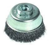 Brosse COUPE -Fil acier ondulé -Décapage du métal ESSENTIAL (Blister)