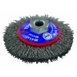 Brosse CONIQUE -Fil acier ondulé -Décapage du métal TECHNIC (Blister)