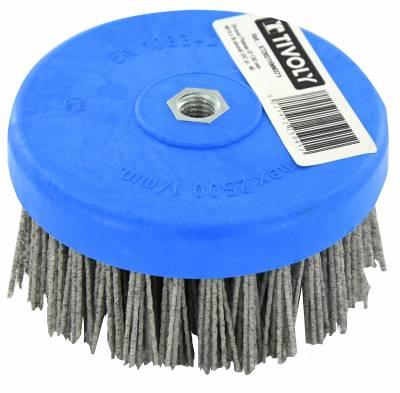 Cepillo nailon M14 | Especial pulidora | Pulido de madera ESSENTIAL (Granel)