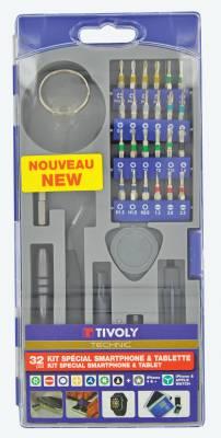 32 pièces -Embouts et accessoires pour smartphone & tablette